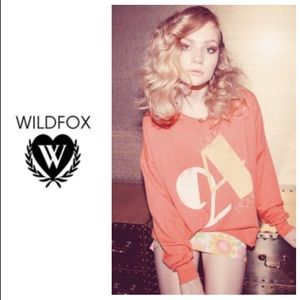 FABULOUS WILDFOX Love 24/7 oversized sweatshirt!